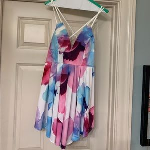 NWT floral mini dress